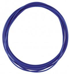 Bremszug Hülle 5 mm Blau 2,5 m Rolle