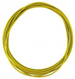 Bremszug Hülle 5 mm Gelb 2,5 m Rolle