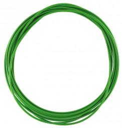 Schaltzug Hülle 4 mm grün 2,5 m Rolle