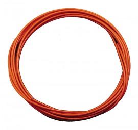 Bremszug Hüllen 5 mm Orange 2,5 m Rolle
