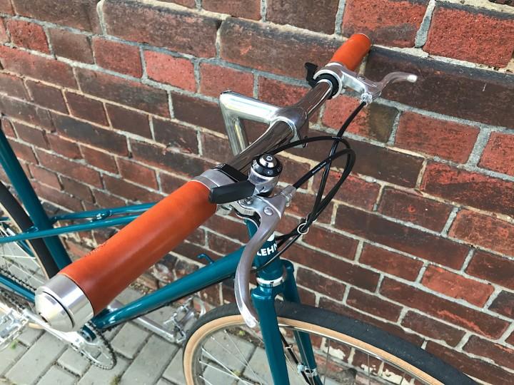 Tektro Bremshebel FL 540 Alu eloxiert silber//schwarz Fahrrad