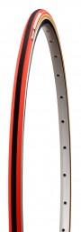 Panaracer Practice Dual TG Schlauchreifen 700x 22,5 rot / schwarz
