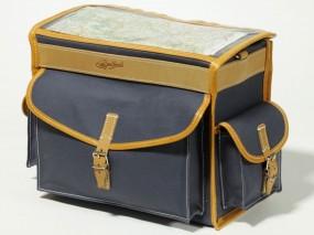 Berthoud GB 2586 VR Gepäckträgertasche 10 Liter grau/ braun