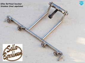 Berthoud Edelstahl Decaleur H-91mm - horizontal