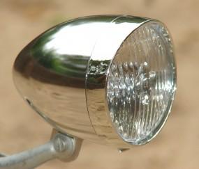 Classic 5 LED Taschenlampe verchromt