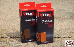 Velox Lenkerband gelocht marron- dunkelbraun