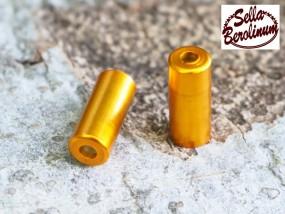5 mm Endhülse gold eloxiert