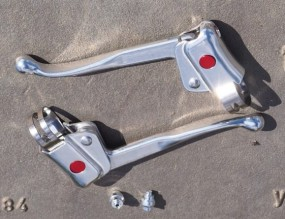 Sellax 136 A Bremshebel Paar silber