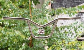BMX 302 Lenker Stahl verchromt, 8,5