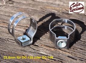 Dia Compe 23,8 mm Bremshebel Schelle f. Bremshebel 135+ 139, 1 Paar