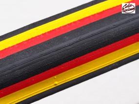 700x 23C Faltreifen schwarz / rot / gelb