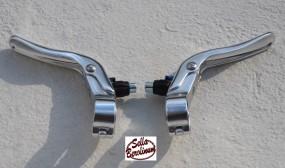 Tektro RL-720 Bremshebel Set silber f.23,8mm Lenker