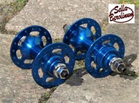 Bitex TKF+ R 10 Track Naben Set blau elox., 32 Loch