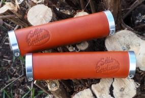 Sellax B1 Ledergriffe 130 - 130mm lang honigbraun, Paar
