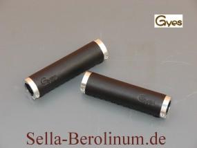 Gyes B1 Ledergriffe 130 - 130 mm schwarz, Paar
