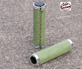 SellaX B1 Textil Griffe 130 - 130 mm Grün, Paar