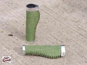 Sellax B3 Ergo Textil Griffe 140 - 140 mm lang Grün, Paar
