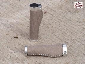 Sellax B3 Ergo Textil Griffe 140 - 140 mm lang Sand, Paar