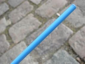 Bremszug Hülle 5mm hellblau 2,5m Rolle