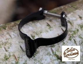 Dia Compe 1501 Casing Clip für 25,4mm Rohre schwarz