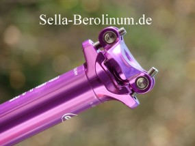 31,6mm CT Brut Patentstütze 350mm, violett elox.