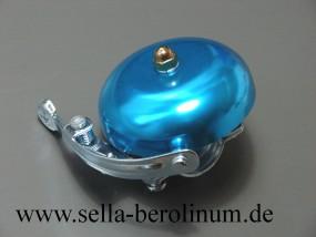 Rennglocke Alu cyanblau eloxiert 55 mm