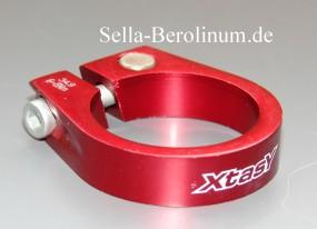 31,8mm Xtasy Rahmen Klemmschelle Alu rot