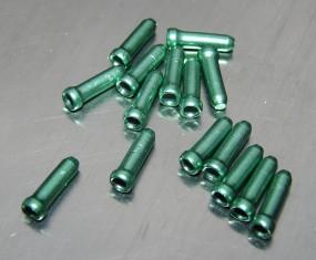 Zug Endkappe Alu grün eloxiert