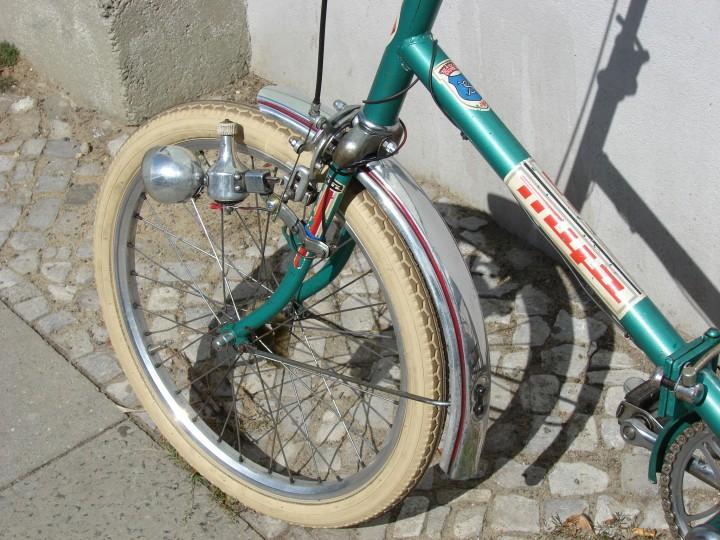 Fahrrad mantel beige