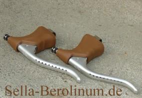 Dia Compe GC 202 H Bremshebel Paar / Non Aero Braun
