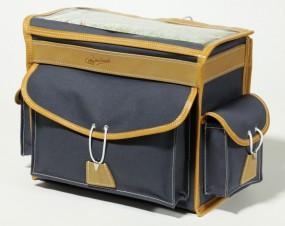 Berthoud GB 25 VR Gepäckträgertasche 10 Liter grau / braun
