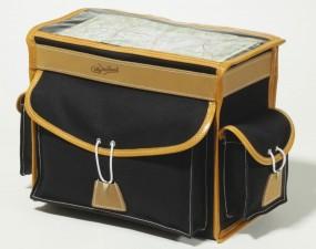 Berthoud GB 25 VR Gepäckträgertasche 10 Liter schwarz / braun