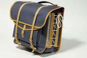 Berthoud GB-372 VR Gepäckträgertaschen 49Liter, grau, 1Paar