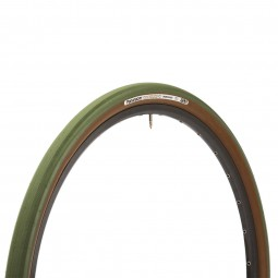 32 - 622 Panaracer Gravelking Slick TLC 700 x 32 C Olive / Braun