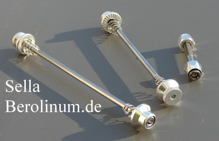 2er Set Aluminium Fahrrad Schnellspanner Zubehör