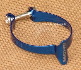 Dia Compe 1501M-2 Casing Clip für 31,8mm Rohre blau