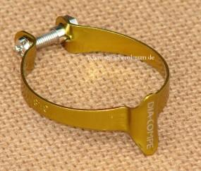 Dia Compe 1501 Casing Clip für 25,4mm Rohre gold