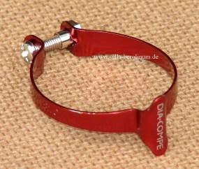 Dia Compe 1501M-2 Casing Clip für 31,8mm Rohre rot