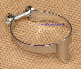 Dia Compe 1501M-2 Casing Clip für 31,8mm Rohre silber