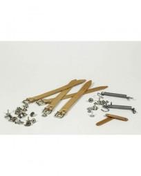 GB Lederriemen und Haltefedern Set für Paniertaschen