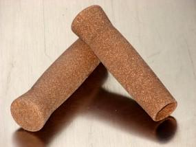 Korkgriffe naturbraun 122 mm, 1 Paar