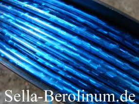 Bremszug Hülle 5 mm Blau / Glitter 2,5 m Rollen
