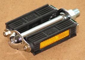 MKS 3000 R Blockpedale mit Reflektor, Paar
