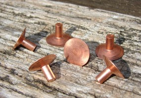 Sattelniet 16mm verkupfert