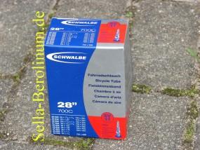 700 C Schwalbe SV 17 / 40 mm Ventil Schlauch 28 - 40 mm