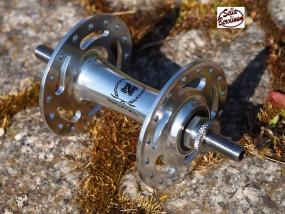 Novatec VR Bahnrad Nabe silber 32 Loch