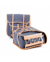 GB 372 Pannier / Front Tasche grau / braun
