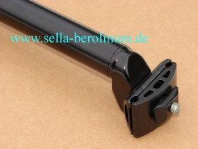 27,0mm Patentstütze Alu schwarz