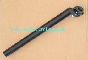 27,2mm Patentstütze Alu schwarz