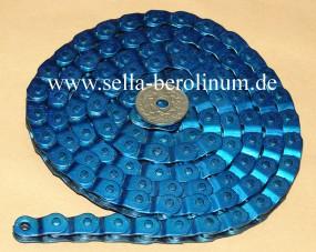 Half Link Kette Yaban MK 918 blau eloxiert 1/2